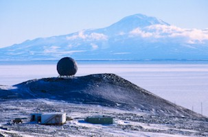 Arrival Heights, McMurdo Station - The SUV is located in the